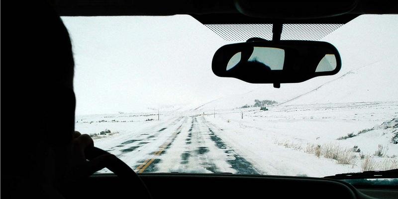 Cómo manejar cuando el camino está cubierto de nieve